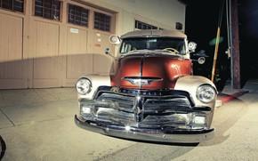 Картинка Chevrolet, Old, Truck, Classic Car