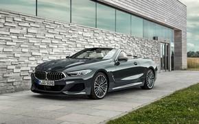 Обои BMW, 2018, Cabrio, xDrive, G14, M850i, BMW M850i xDrive Cabrio 2018, BMW M850i xDrive Cabrio