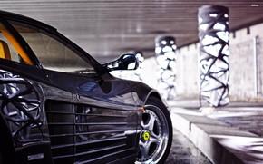 Картинка Авто, Машина, Феррари, Ferrari, Спорткар, Testarossa, F512 M, 512 TR, Ferrari Testarossa, Ferrari Testarossa 512 …