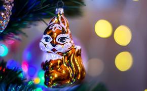 Картинка праздник, игрушка, новый год