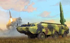 Обои Точка, советский тактический ракетный комплекс, дивизионного звена