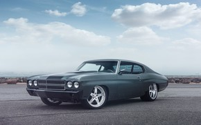 Картинка Chevy, Chevelle, Muscle car, Vehicle, Pro Touring