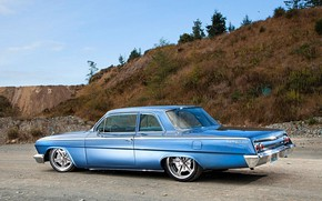 Картинка Bel Air, Coupe, Chevy, Vehicle
