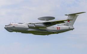 Картинка ВВС России, А-50У, Beriev A-50U, самолёт ДРЛО