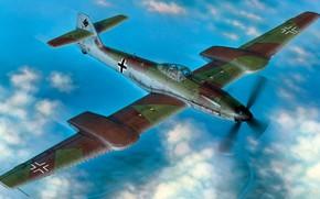 Картинка Перехватчик, Luftwaffe, Blohm & Voss, BV 155