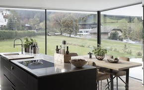 Картинка интерьер, кухня, столовая, La Casa Pura, by Perathoner Architects