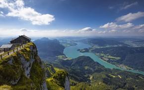 Картинка небо, облака, горы, Австрия