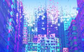 Картинка Architecture, Стиль, Будущее, Рисунок, Арт, Illustration, Cyberpunk, Love Death & Robots Promo Art for The …