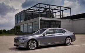 Картинка BMW, седан, строение, четырёхдверный, G12, G11, 2020, 7er, 7-series, 2019, полноразмерный
