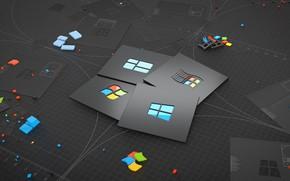 Картинка Microsoft, Windows 10, Eching