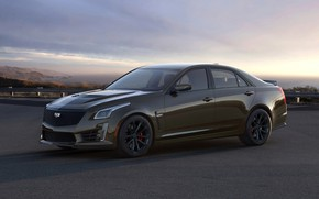 Картинка Cadillac, седан, CTS-V, четырёхдверный