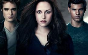 Картинка Сумерки, оборотень, персонажи, Белла, Эдвард Каллен, The Twilight Saga: Eclipse, вамппир