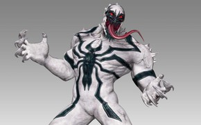 Картинка marvel, симбиот, anti venom, анти-веном
