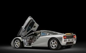 Картинка McLaren, Салон, Дверь, 1993, McLaren F1, Спорткар, Sports car
