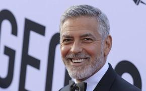 Картинка улыбка, актёр, Джордж Клуни
