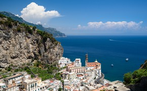 Картинка Италия, панорама, Атрани