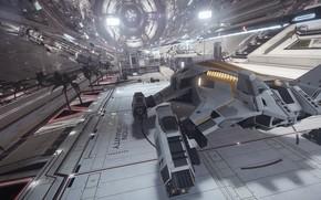 Картинка станция, космическая станция, космический корабль, Elite: Dangerous