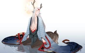 Картинка Fanart, Centaur, Pixiv, Shishio, Onmyoji, Fanart From Pixiv, Onmyouji (NetEase)