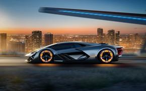 Картинка Concept, Lamborghini, Terzo Millennio