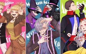 Картинка Disney, Snow White, Cosplay, Character, My Hero Academia, Boku No Hero Academia, Dabi, Toga Himiko, …