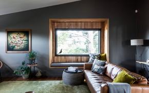 Обои комната, интерьер, гостиная, Ashburton House