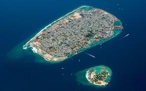 Картинка city, island, beauty, cityscape