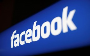 Картинка размытие, лого, facebook, fon, социальная сеть, фейсбук