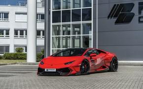 Картинка Lamborghini, 2018, Widebody, Prior-Design, Huracan, PDLP610WB, Aerodynamik-Kit