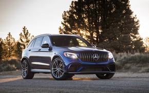 Картинка Mercedes-Benz, AMG, кроссовер, GLC 63, 4MATIC+
