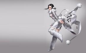 Картинка аниме, арт, костюм, snow, mingzhu yang