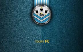 Картинка wallpaper, sport, logo, football, Ligue 1, Tours