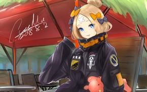 Картинка кафе, Fate / Grand Order, Судьба великая кампания, Abigail Williams, Foreigner