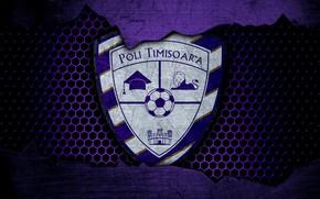 Картинка wallpaper, sport, logo, football, Poli Timisoara