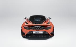 Картинка McLaren, суперкар, вид сзади, UK-spec, 2020, 765LT