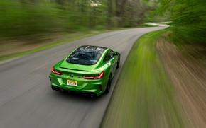 Картинка купе, BMW, Coupe, на дороге, 2020, BMW M8, двухдверное, M8, M8 Competition Coupe, M8 Coupe, …