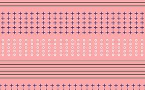 Картинка фон, розовый, узор, текстура, pattern, Geometrical