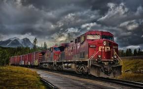 Картинка Train, Railway, Railcar