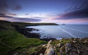 Картинка побережье, Ирландия, Ireland