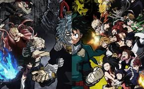 Картинка Izuku Midoriya, Katsuki Bakugou, Stain, Muscular, My Hero Academia, Toshinori Yagi, All Might, Eijiro Kirishima, …