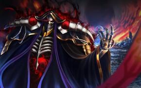 Картинка скелет, Overlord, Владыка