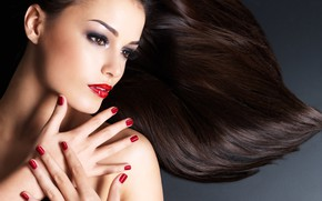 Картинка model, pretty, make up