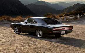 Картинка Dodge, Charger, Muscle car, Custom, Tantrum