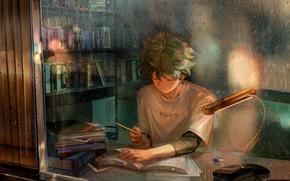 Картинка парень, My Hero Academia, Boku No Hero Academia, Мидория Изуку, Моя Геройская Академия