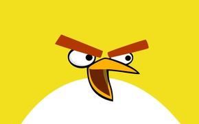Картинка минимализм, Angry Birds, Злые Птички