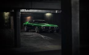 Картинка Авто, Зеленый, Машина, Dodge, Charger, Dodge Charger, 1974, Mikhail Sharov, Transport & Vehicles, by Mikhail …