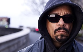 Картинка очки, капюшон, актёр, музыкант, рэпер, Ice-T, автор песен, Айс-Ти