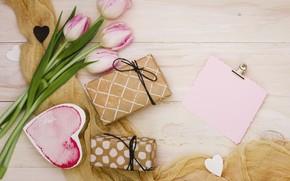Картинка подарки, bouguet, композиция, tulip