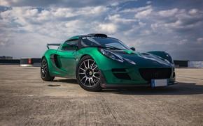 Обои green, Lotus, Exige, CUP300