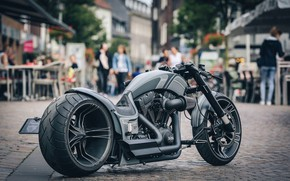 Картинка Harley Davidson, Street, Bike, Harley-Davidson, Custom, Motorbike, People, Dragster, Thunderbike, By Thunderbike, RS-R2