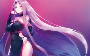 Картинка девушка, фон, Судьба ночь схватки, Fate / Stay Night